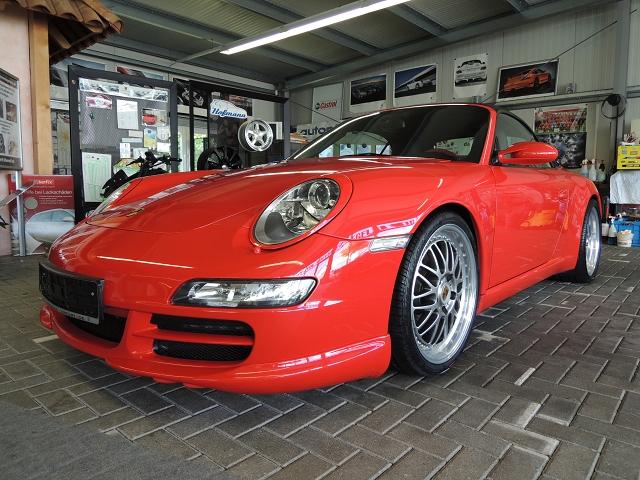 Porsche 911 Cabrio www.autopflege-erfurt.de