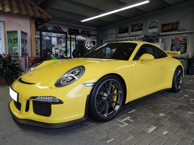 Porsche 991 GT3 www.spezial-autoversiegelung.de