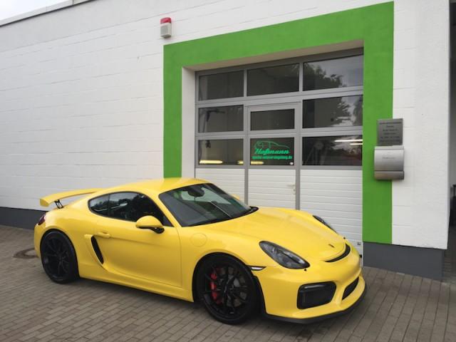 spezial eingang Porsche Cayman GT4 www.spezial-autoversiegelung.de (1)