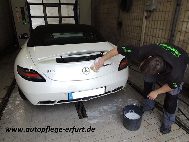 spezial werksatt Handwäsche Mercedes SLS