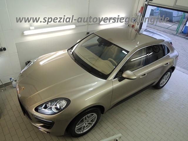 www.autopflege-erfurt.de Porsche Macan gold