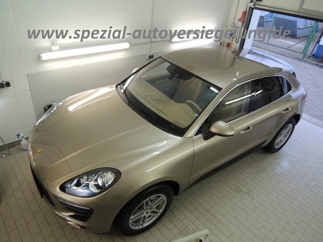 www.spezial-autoversiegelung.de Porsche Macan gold