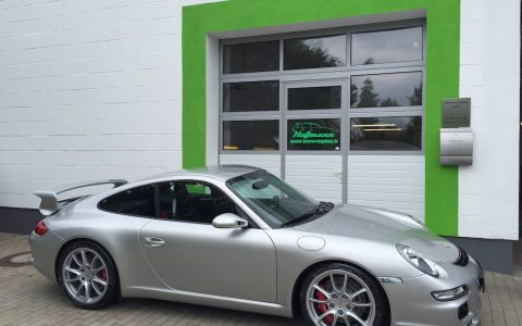 Porsche GT3 silber